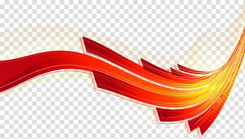 Flow line clipart svg freeuse stock Line Curve Red Euclidean , Colorful science and technology linear ... svg freeuse stock