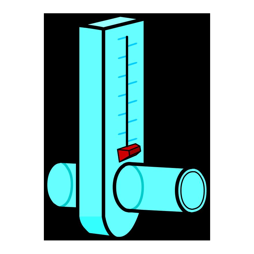 Flow meter clipart. Peak brainpop