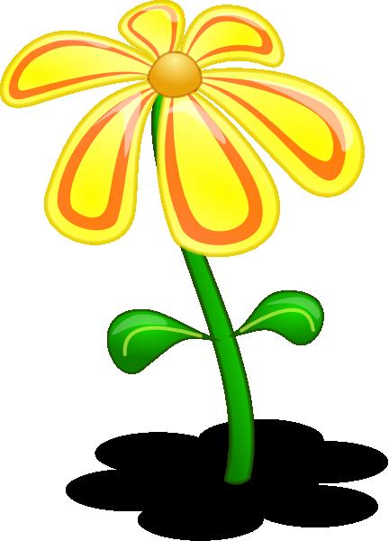 Flowers 3d clipart clip art free 3d Yellow Flower Clip Art at Clker.com - vector clip art online ... clip art free