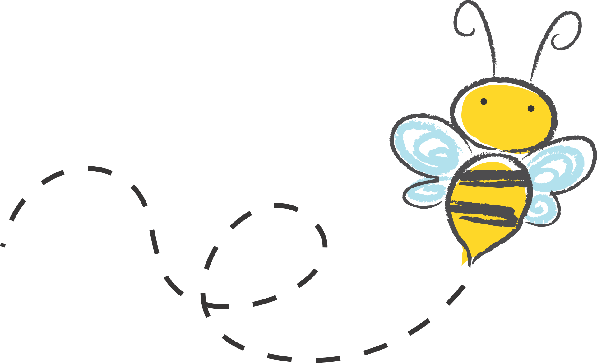 Flower and bee clipart picture library library How Using A Bullet Journal Can Help With Anxiety and Depression ... picture library library