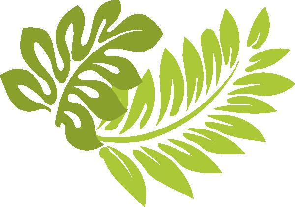 Hawaiian leaf clipart