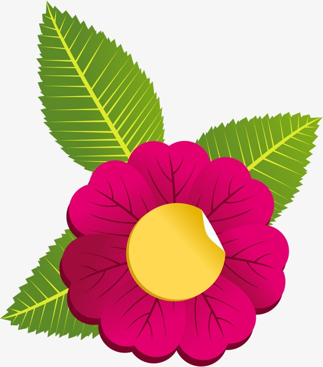 Flower and leaf clipart png stock Flower leaves clipart 3 » Clipart Portal png stock