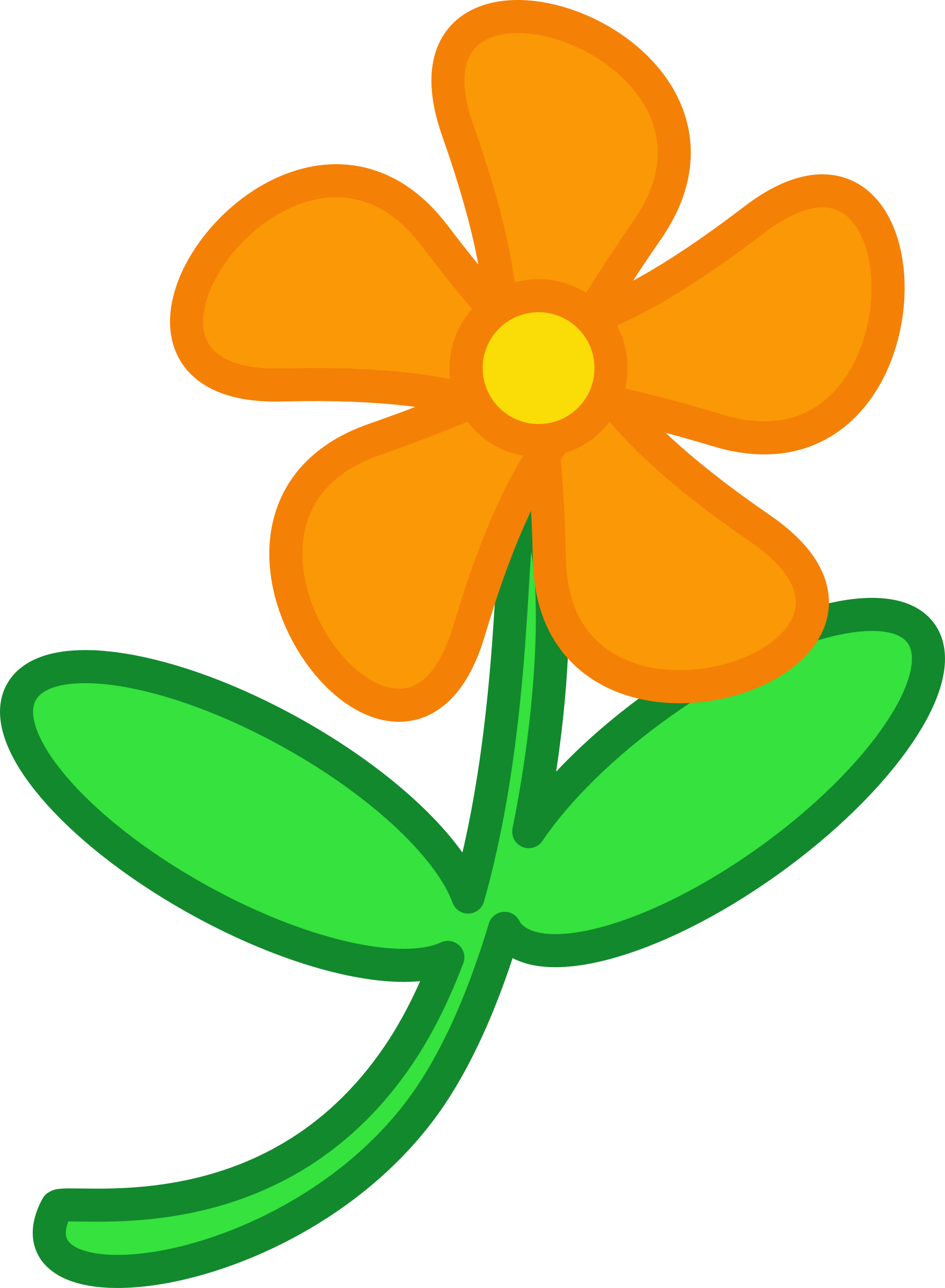 Flower animation clipart. Big image png