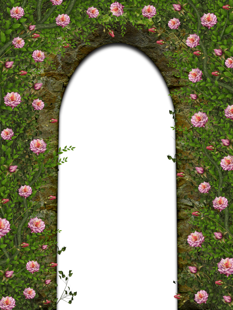 Flower arch clipart banner free Floral Arch by collect-and-creat on DeviantArt banner free