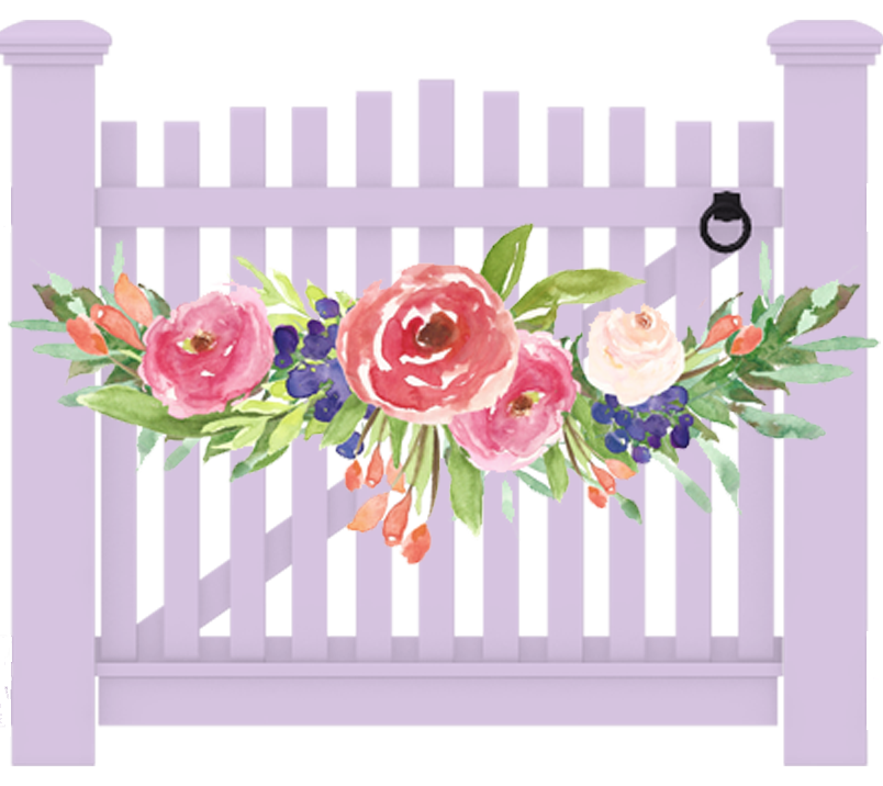 Flower arch clipart free A Rivercrest Farm Wedding | the Garden by the Gate free