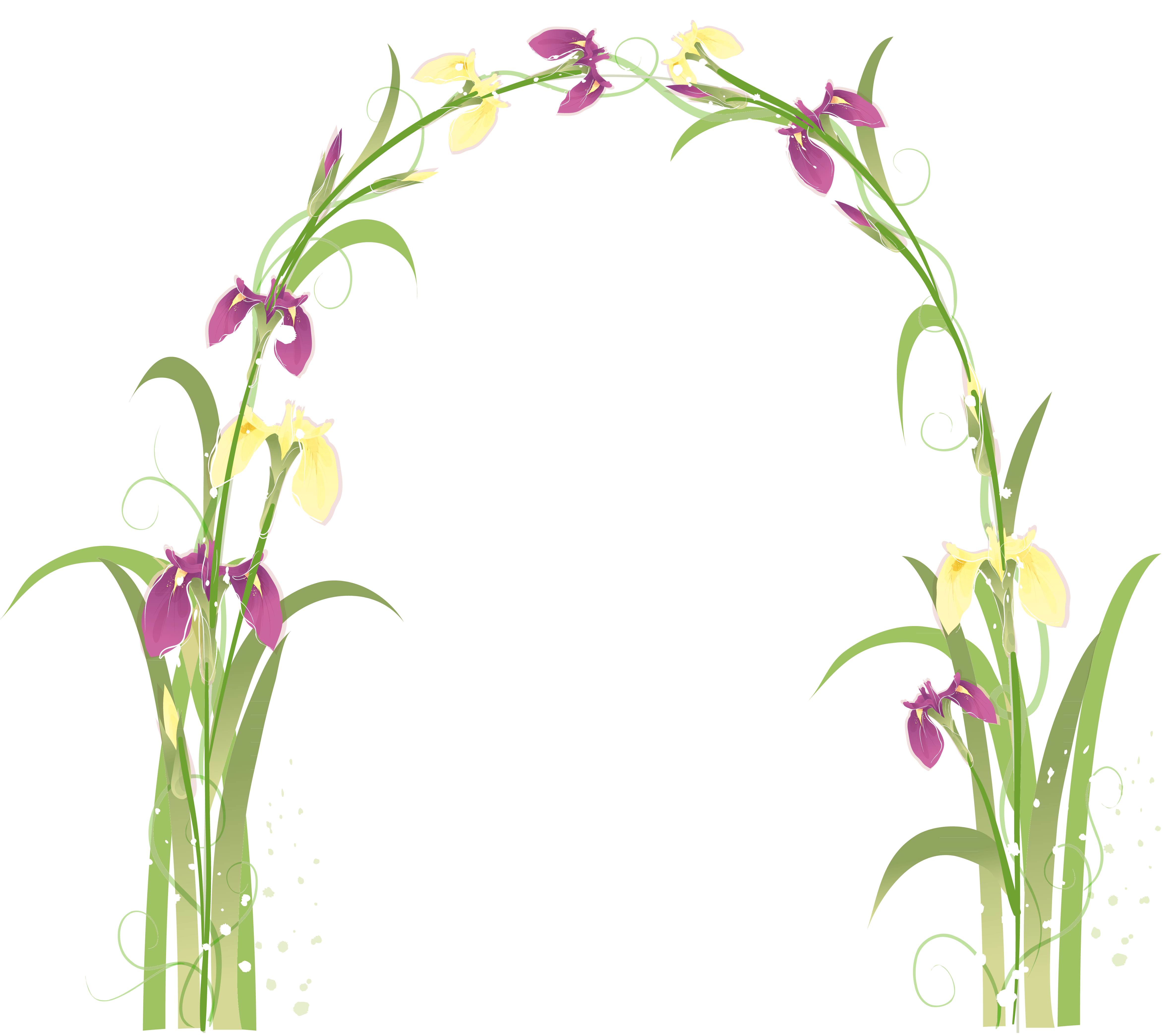 Flower arch clipart svg library Transparent Floral Arch PNG Picture | Gallery Yopriceville - High ... svg library
