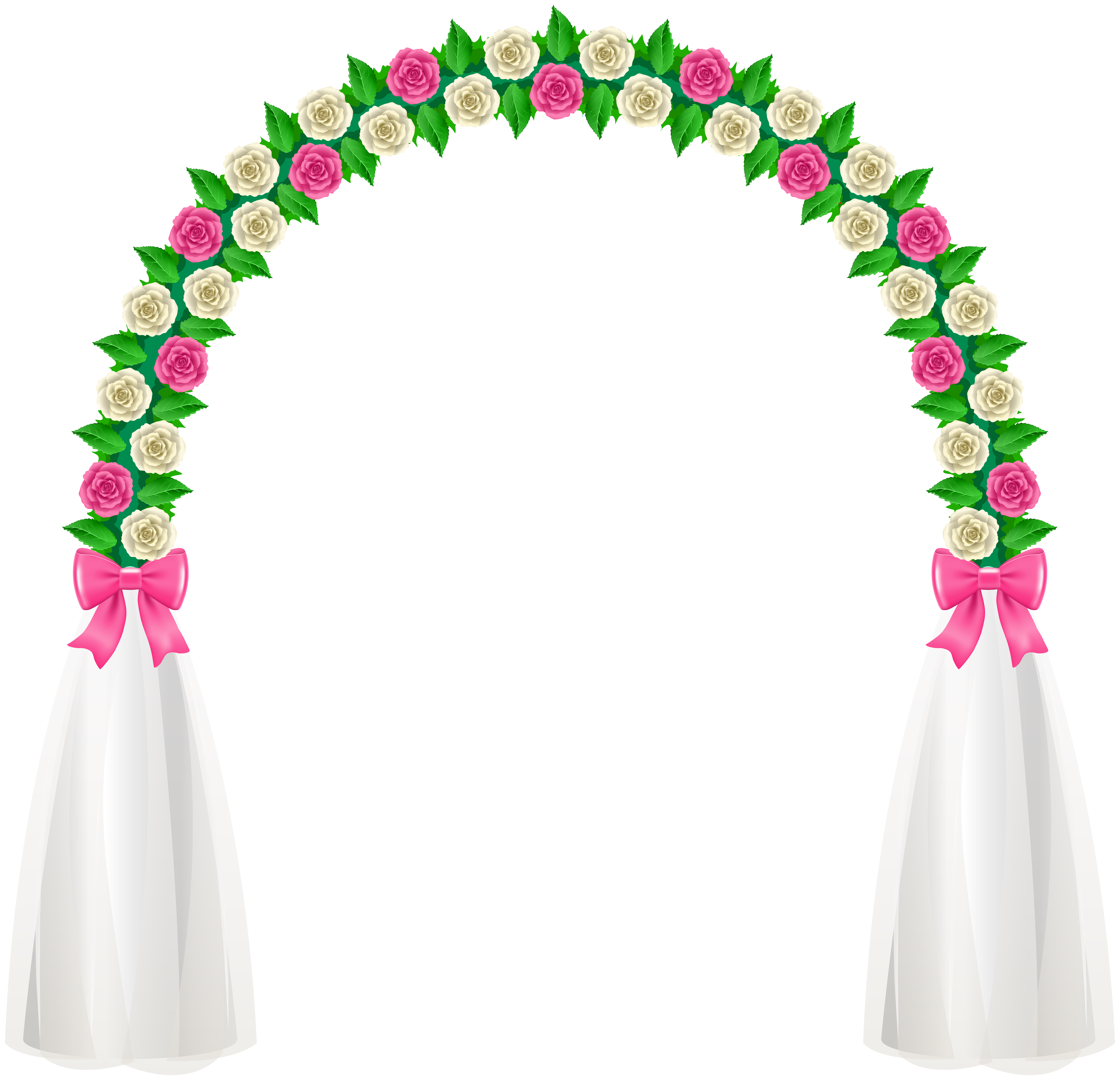 Flower arch clipart jpg library library Wedding Arch PNG Clip Art - Best WEB Clipart jpg library library