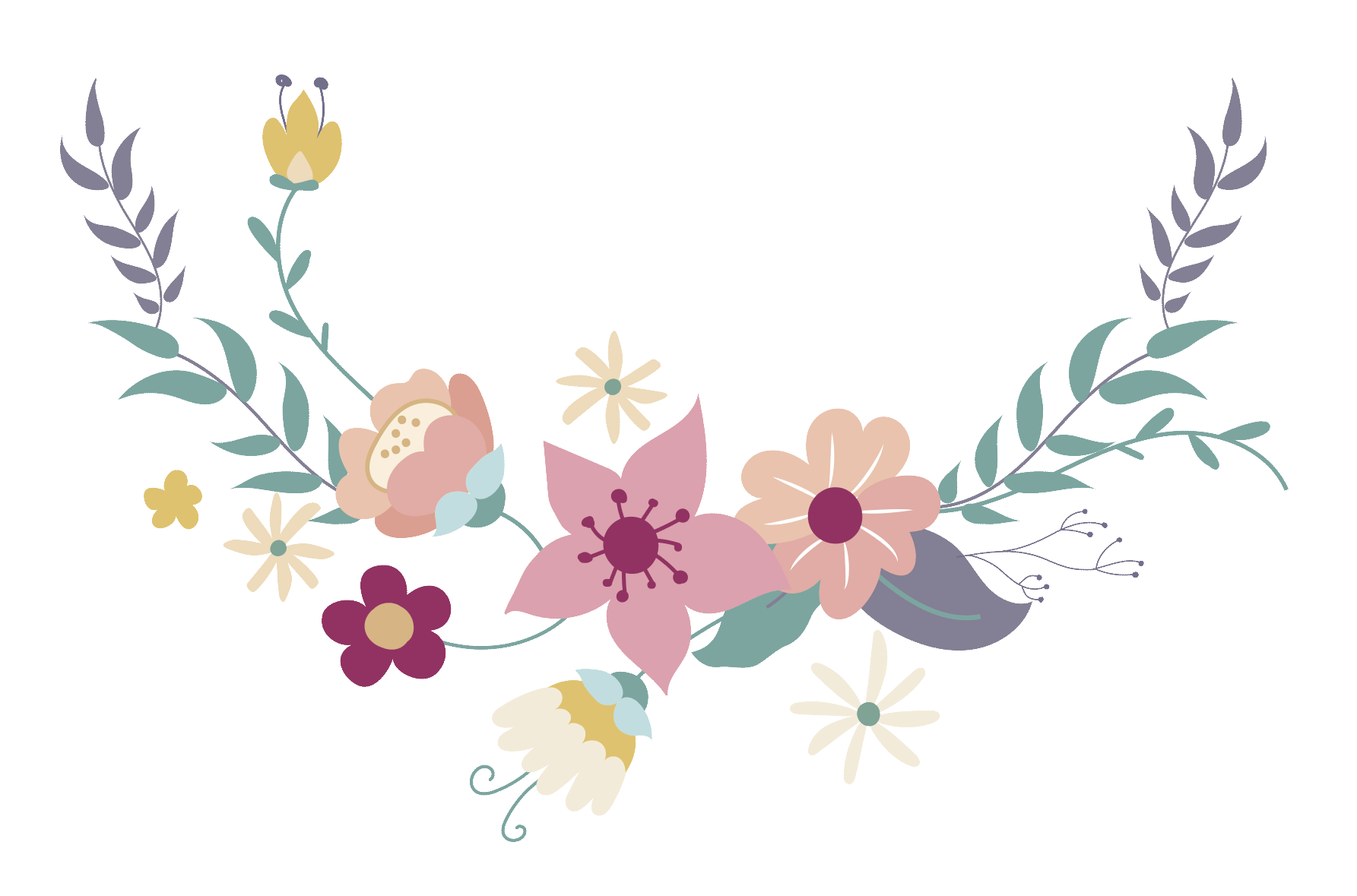 Flower arrow clipart. Im genes para invitaciones