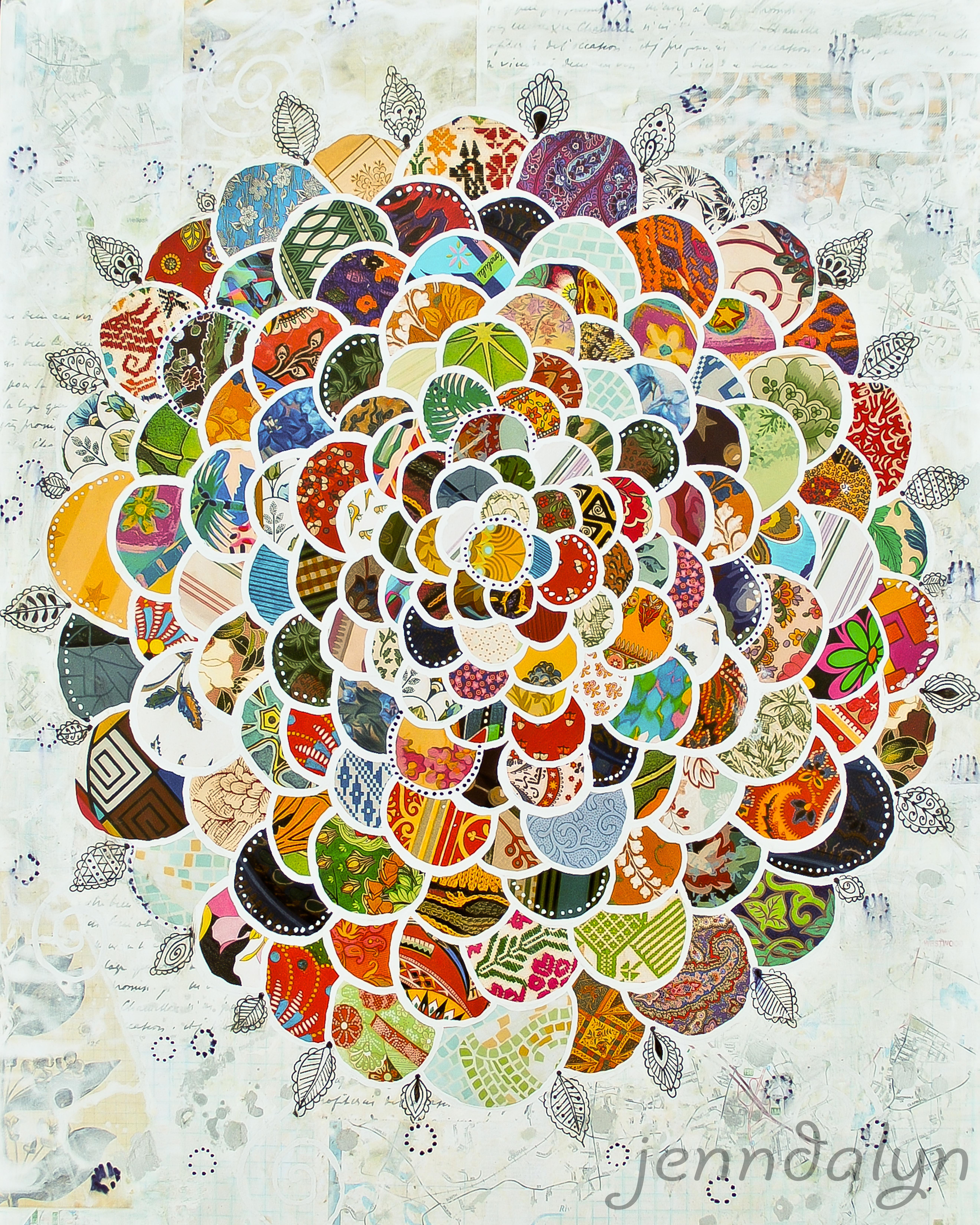 Flower artwork images jpg freeuse Jenndalyn Art   Flower Power jpg freeuse