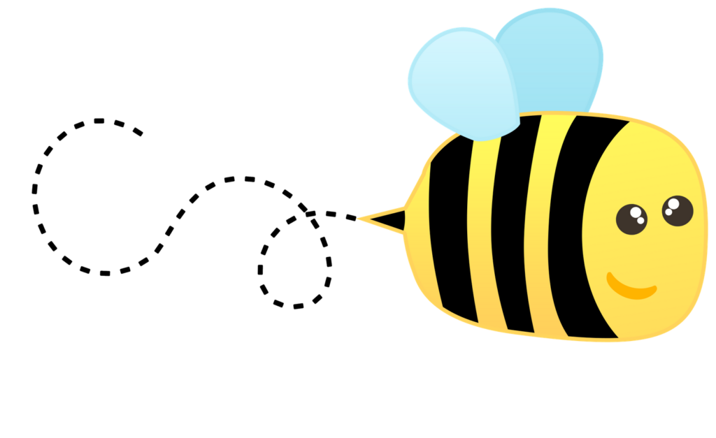 Flower bee clipart picture black and white stock 27 Cute Bee Clipart Images - Free Clipart Graphics, Icons and Images picture black and white stock