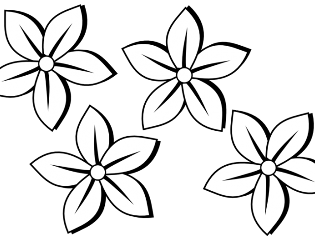 Flower black and white clipart clip art royalty free download Black And White Flower Tattoos Free Download Clip Art - carwad.net clip art royalty free download