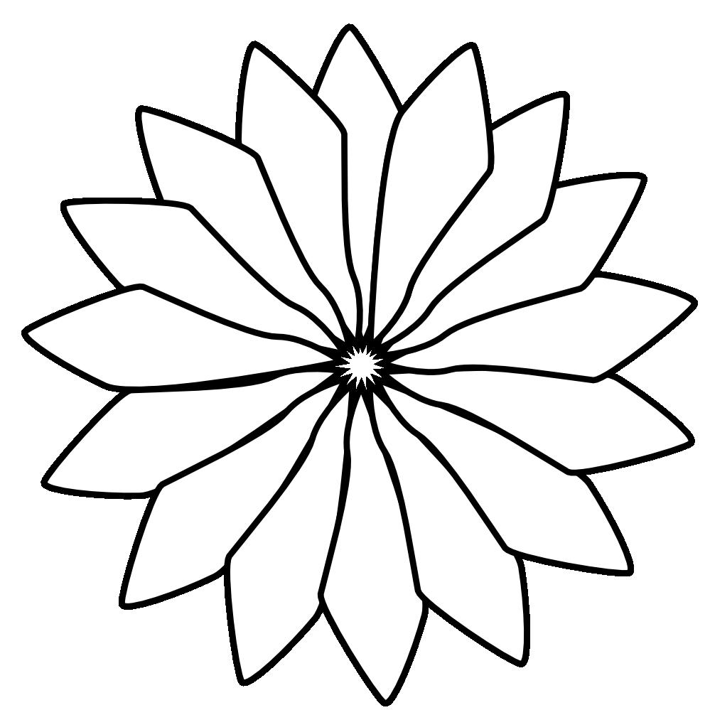 Flower black clipart clip art stock Black White Line Art Flower Valentine Png 46 K Red Flower Black ... clip art stock
