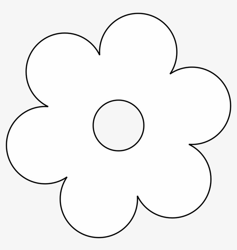 Flower black white clipart. And clip art flowers