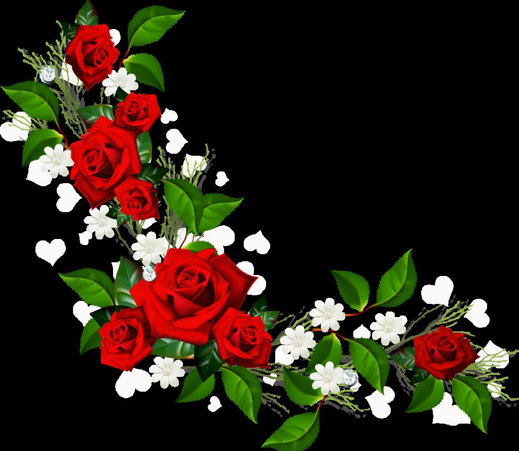 Flower clipart border vector royalty free Flower Border Clipart & Flower Border Clip Art Images - ClipartALL.com vector royalty free