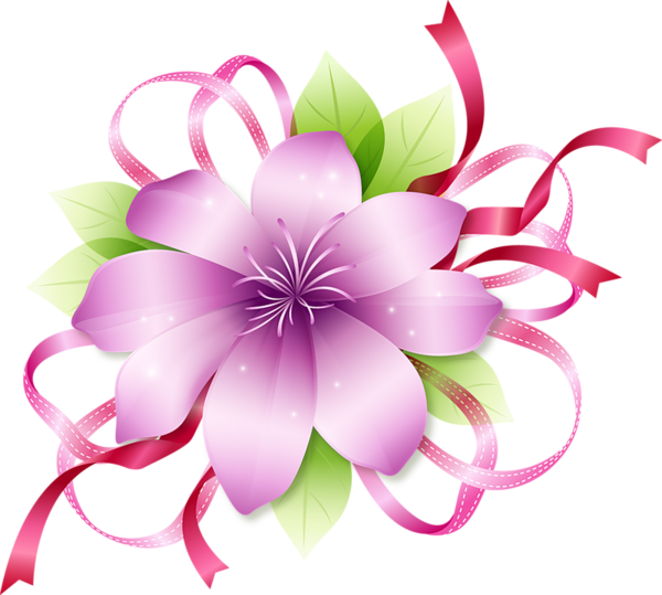 Clipart flower border clipart free download Pink Flower Border Clipart - Clipart Kid clipart free download