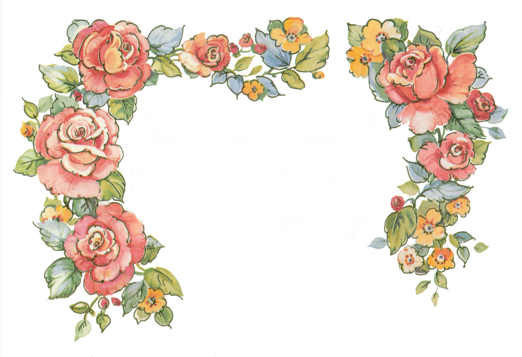 Flower border clipart roses clipart download Jinifur Border Roses by jinifur on DeviantArt clipart download