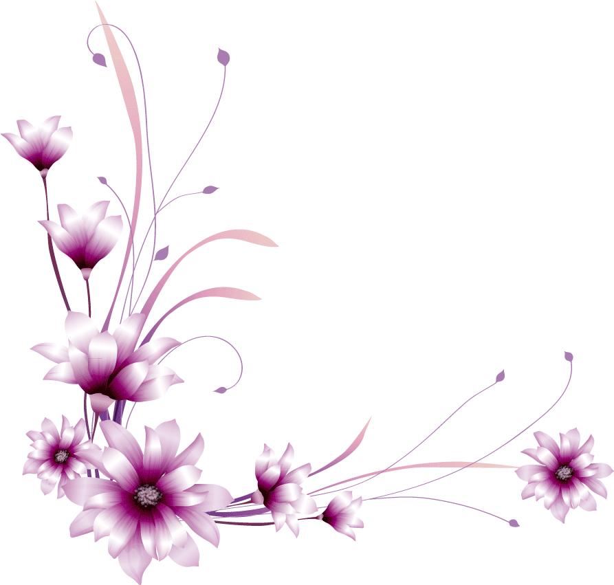 Flower border design clipart graphic free download Bildergebnis für Rahmen clipart, kostenloser druck   Frames ... graphic free download