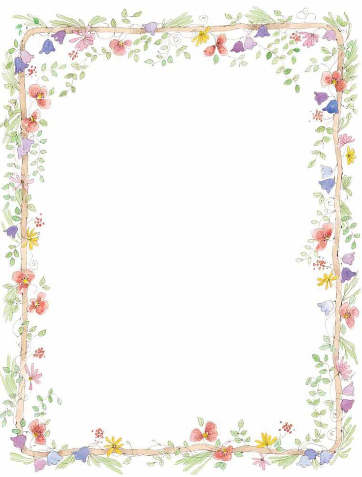 Flower border download clipart black and white download Flower border clip art free vector for free download about image 2 ... clipart black and white download