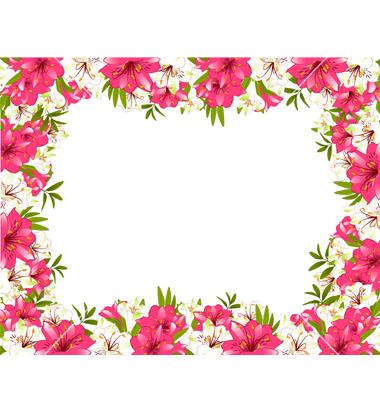 Flower border download jpg black and white stock Flower borders free download - ClipartFest jpg black and white stock