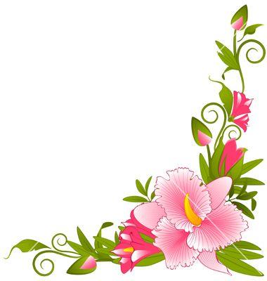 Flower border download graphic freeuse download Free download flower border - ClipartFest graphic freeuse download