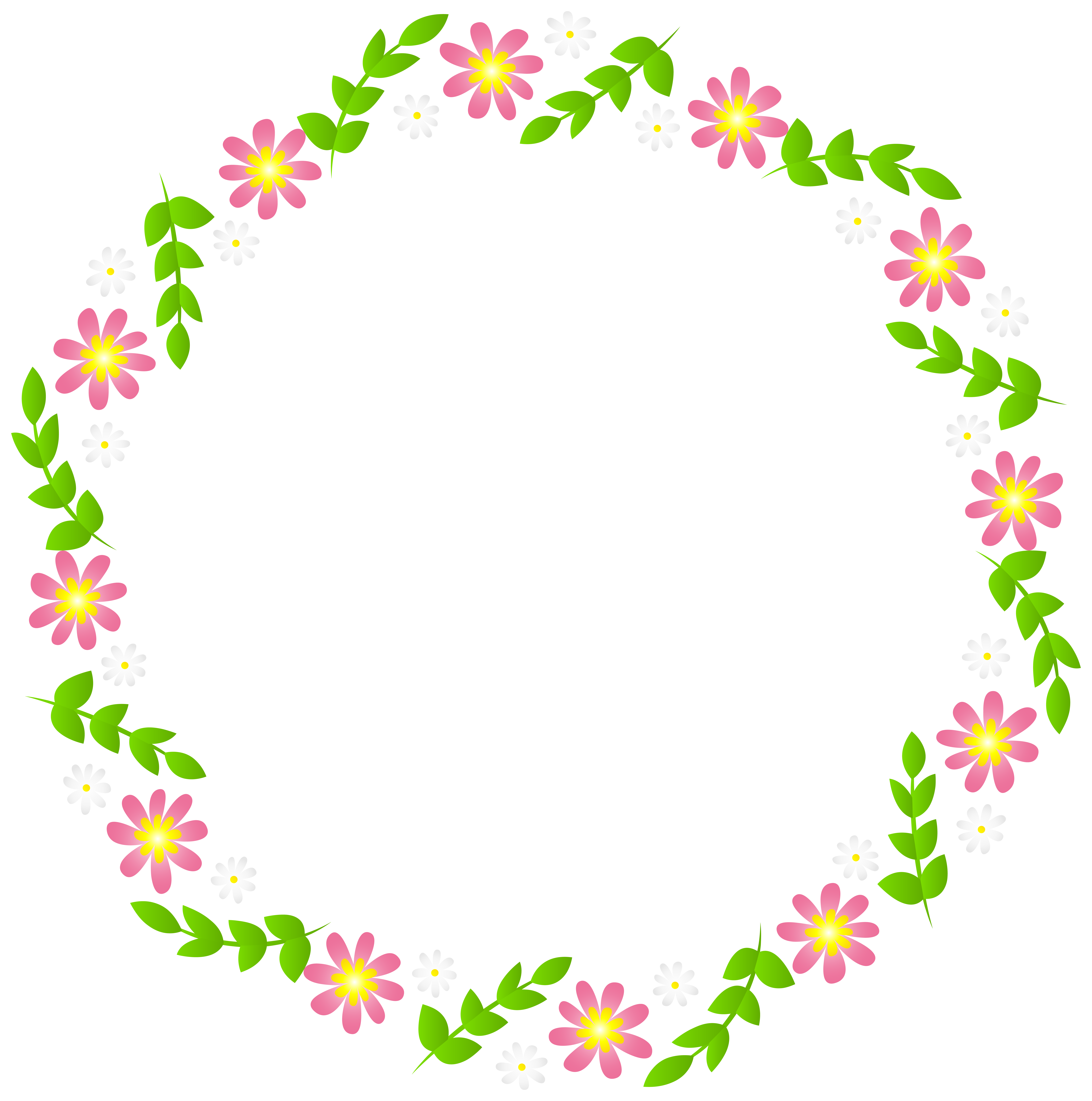 Flower border free clipart png free Floral Border Frame Transparent Clip Art   Gallery Yopriceville ... png free