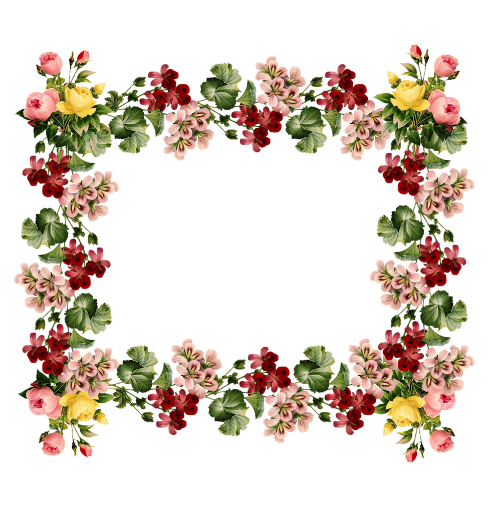 Flower borders free download image royalty free library vintage frames and borders - free downloads & printables | Pintura ... image royalty free library