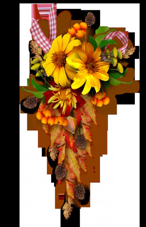 Flower bouquet border clipart jpg freeuse library TUBES FLEURS VARIES PNG...SERVEZ VOUS   clipart borders   Pinterest ... jpg freeuse library