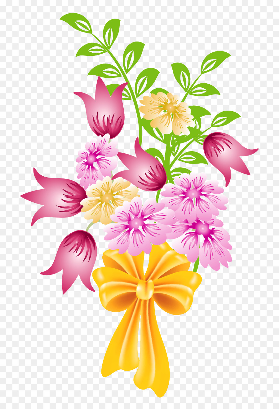 Flower bouquet clipart transparent graphic free stock Wedding Flower Background png download - 836*1317 - Free Transparent ... graphic free stock