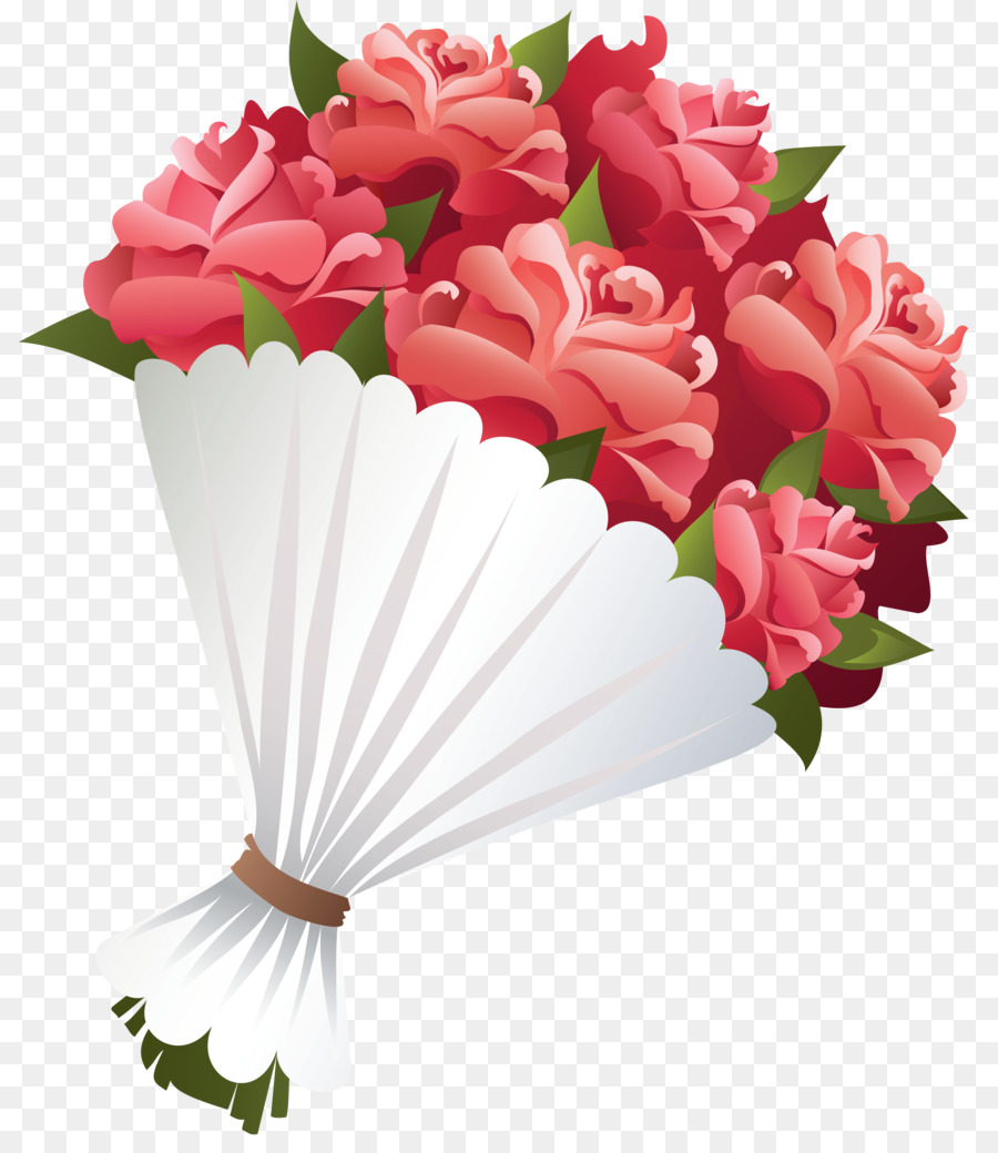 Flower bouquet clipart transparent clipart royalty free library Bouquet Of Flowers Drawing png download - 865*1024 - Free ... clipart royalty free library