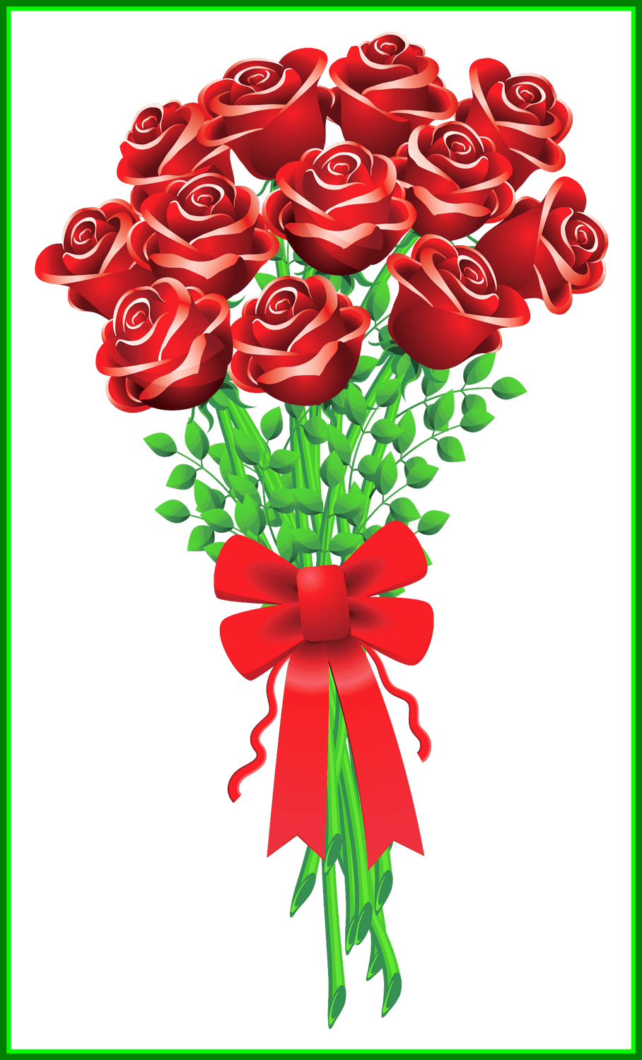 Flower bouquet images clipart free stock Astonishing Valentines Day Roses Clipart Rozy Clip Art And Decoupage ... free stock