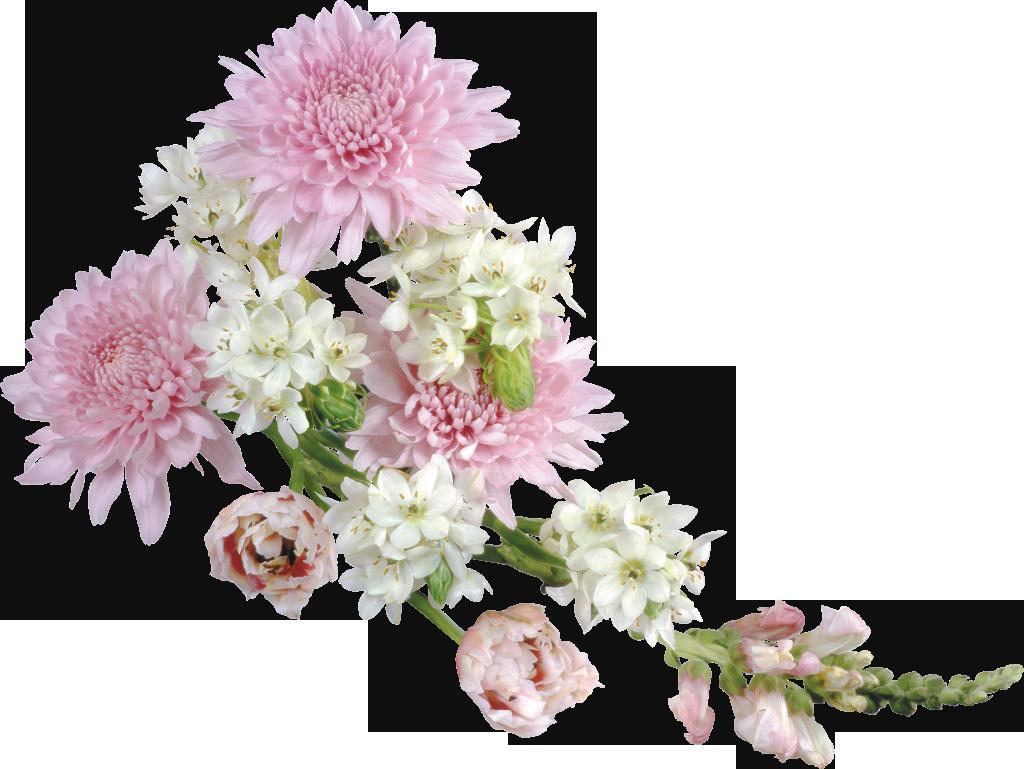 Flower bouquet outline clipart image transparent library Transparent Soft Flower Arrangement Clipart | flowers | Pinterest ... image transparent library