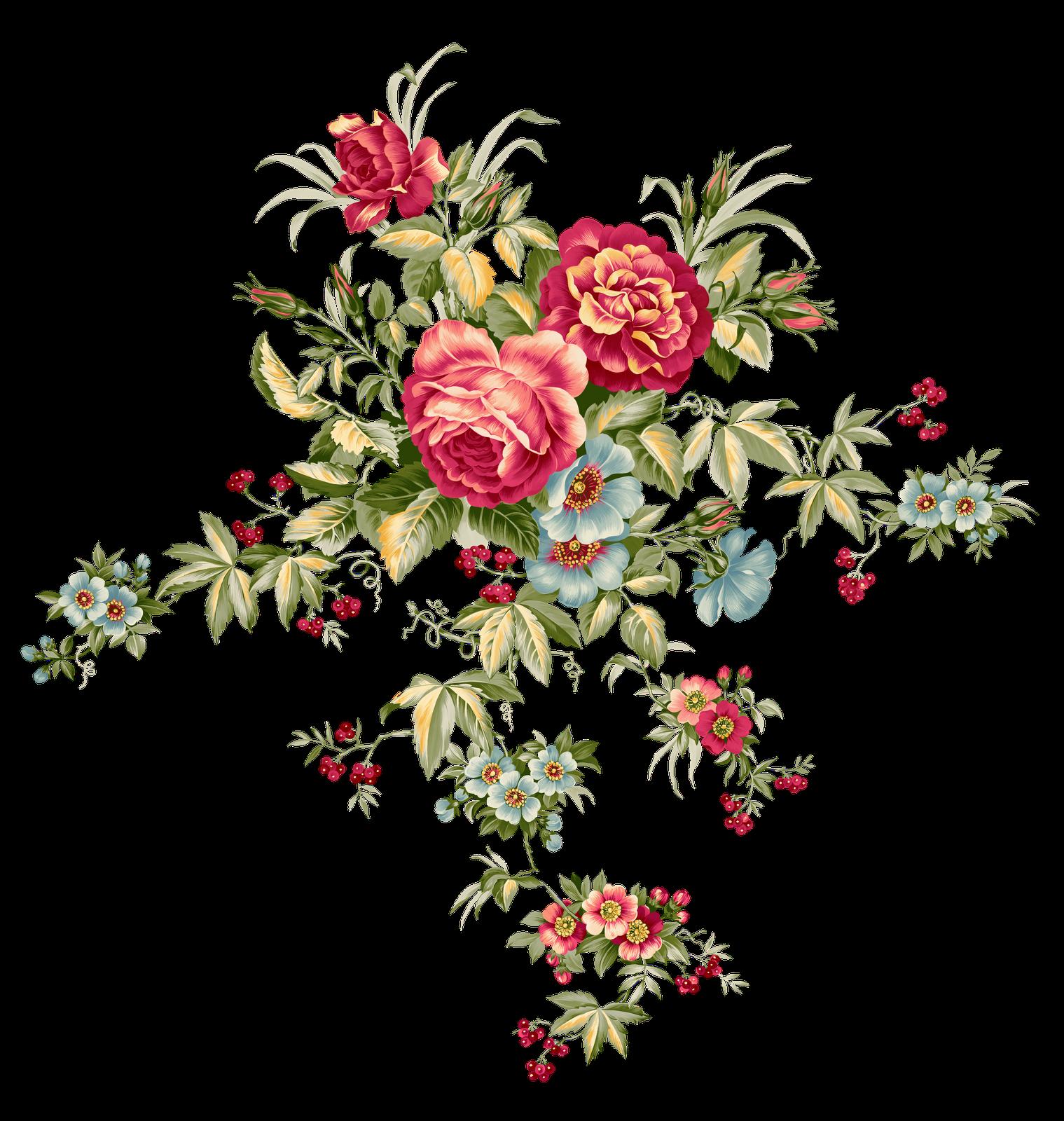 Vintage flower clipart free svg black and white png | Flower png | SYEDIMRAN | Backgrounds | Pinterest | Flower and ... svg black and white