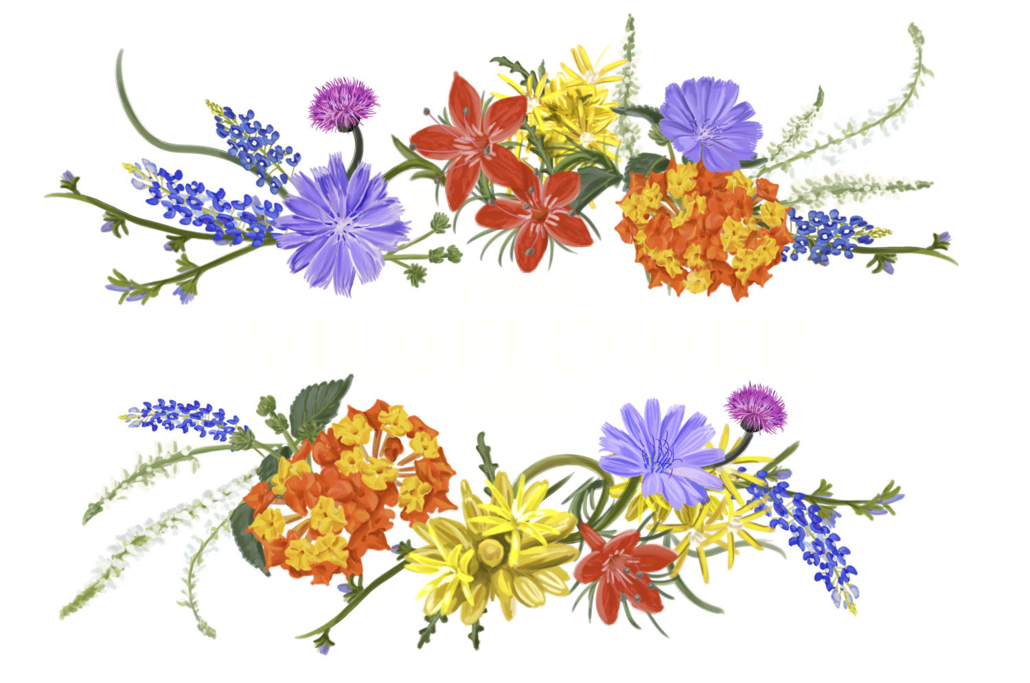 Snapdragon flower clipart picture freeuse download Wildflower Watercolour Flowers Vodka Clip art - wildflower heading ... picture freeuse download