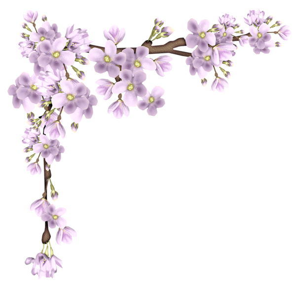 Flower branches clipart vector free download Pink Spring Branch PNG Picture | Card ideas & accessories ... vector free download