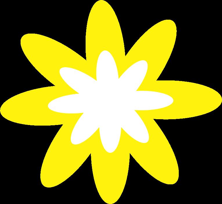 Flower burst clipart vector freeuse download Clipart - Yellow Burst Flower vector freeuse download