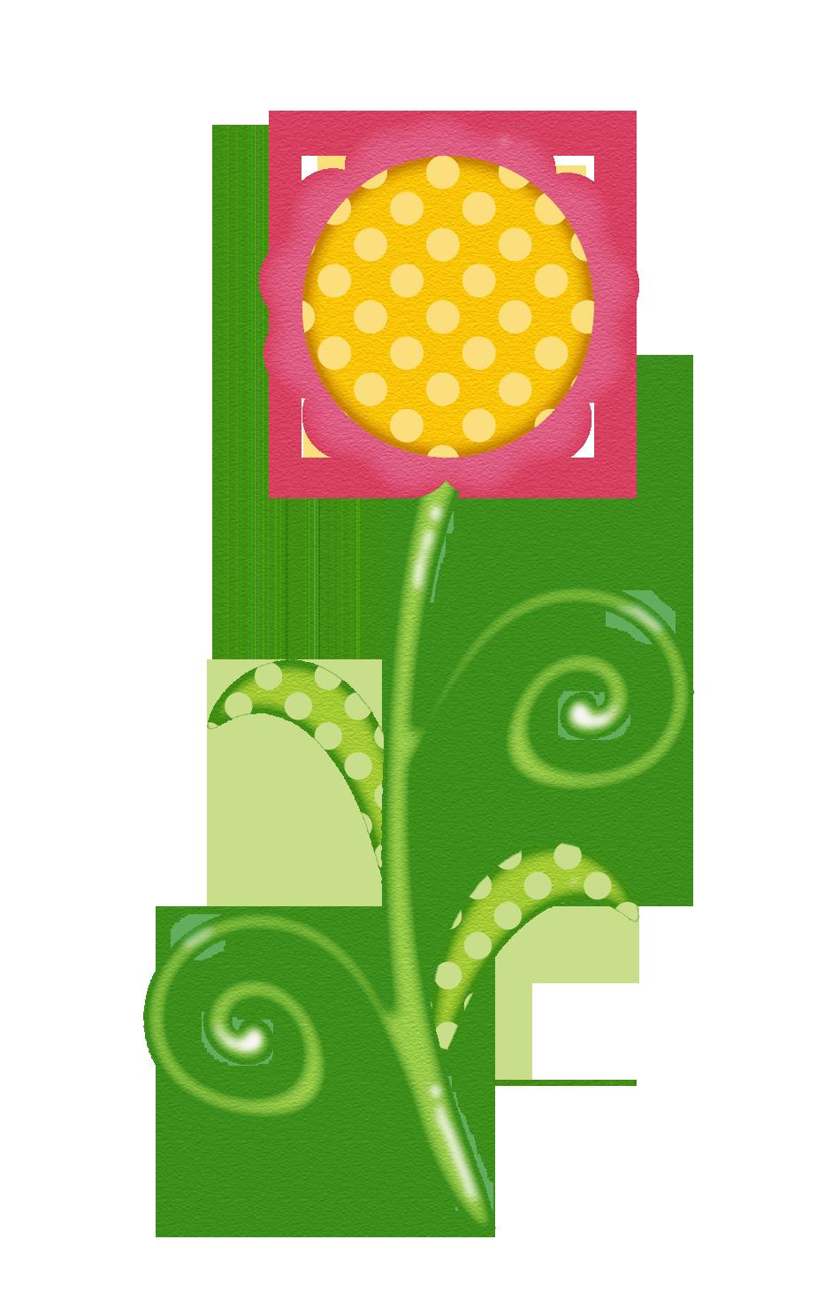 Flower bush clipart transparent download SPRING FLOWER CLIP ART   CLIP ART - SPRING - CLIPART   Pinterest ... transparent download