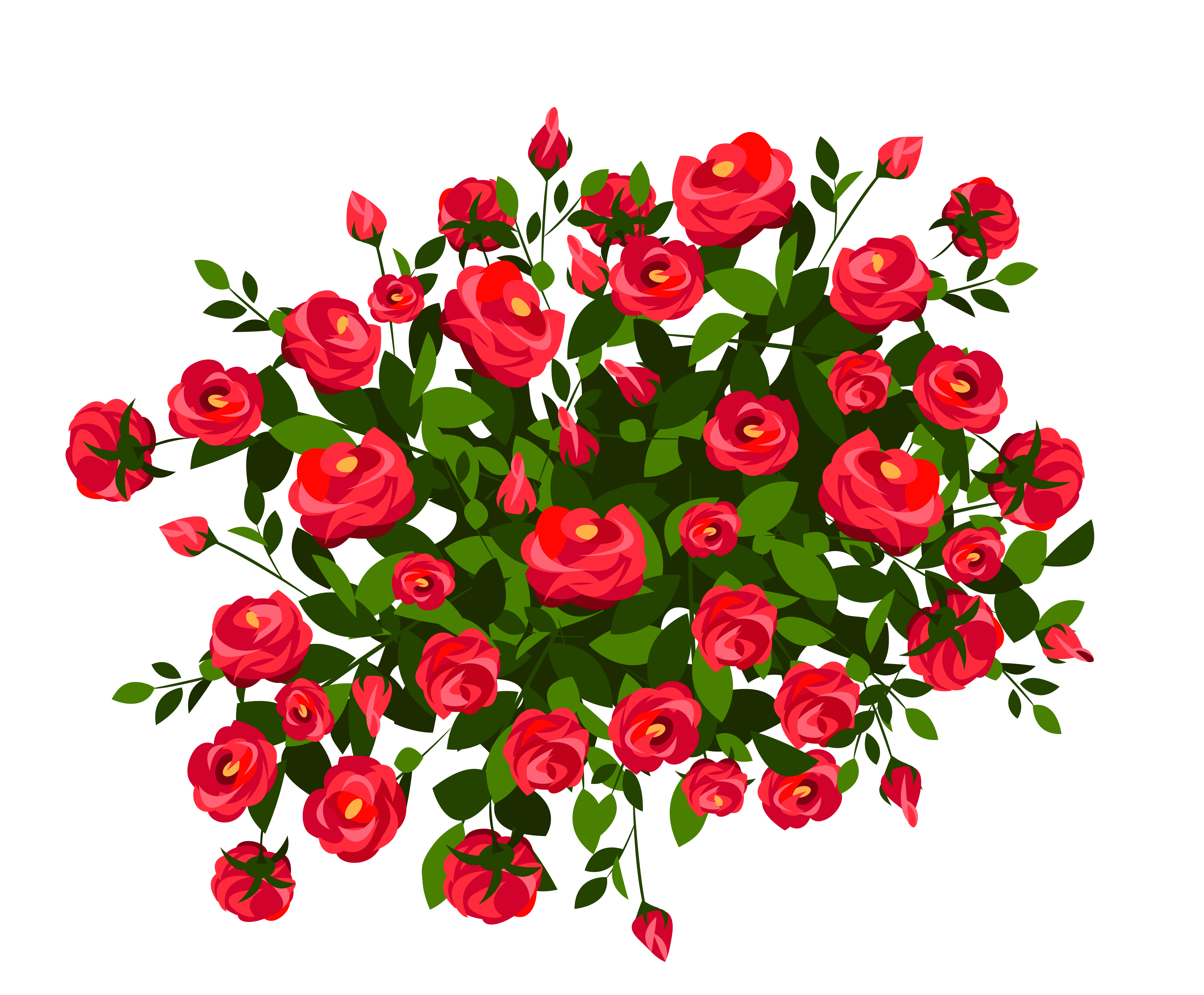 Flower bush clipart png freeuse stock 28+ Collection of Rose Bush Clipart   High quality, free cliparts ... png freeuse stock