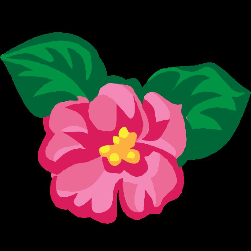 Flower chain clipart