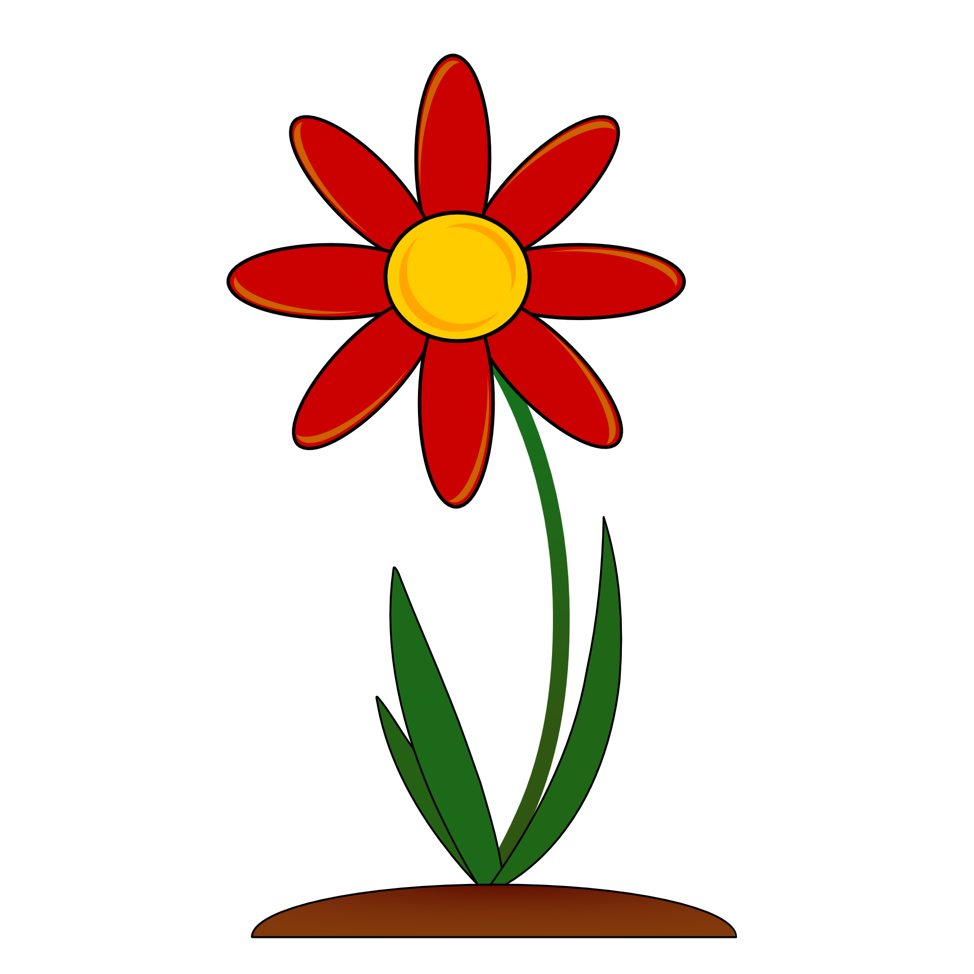 Flower clipart png graphic free stock Red Flower Border Clip Art Png graphic free stock