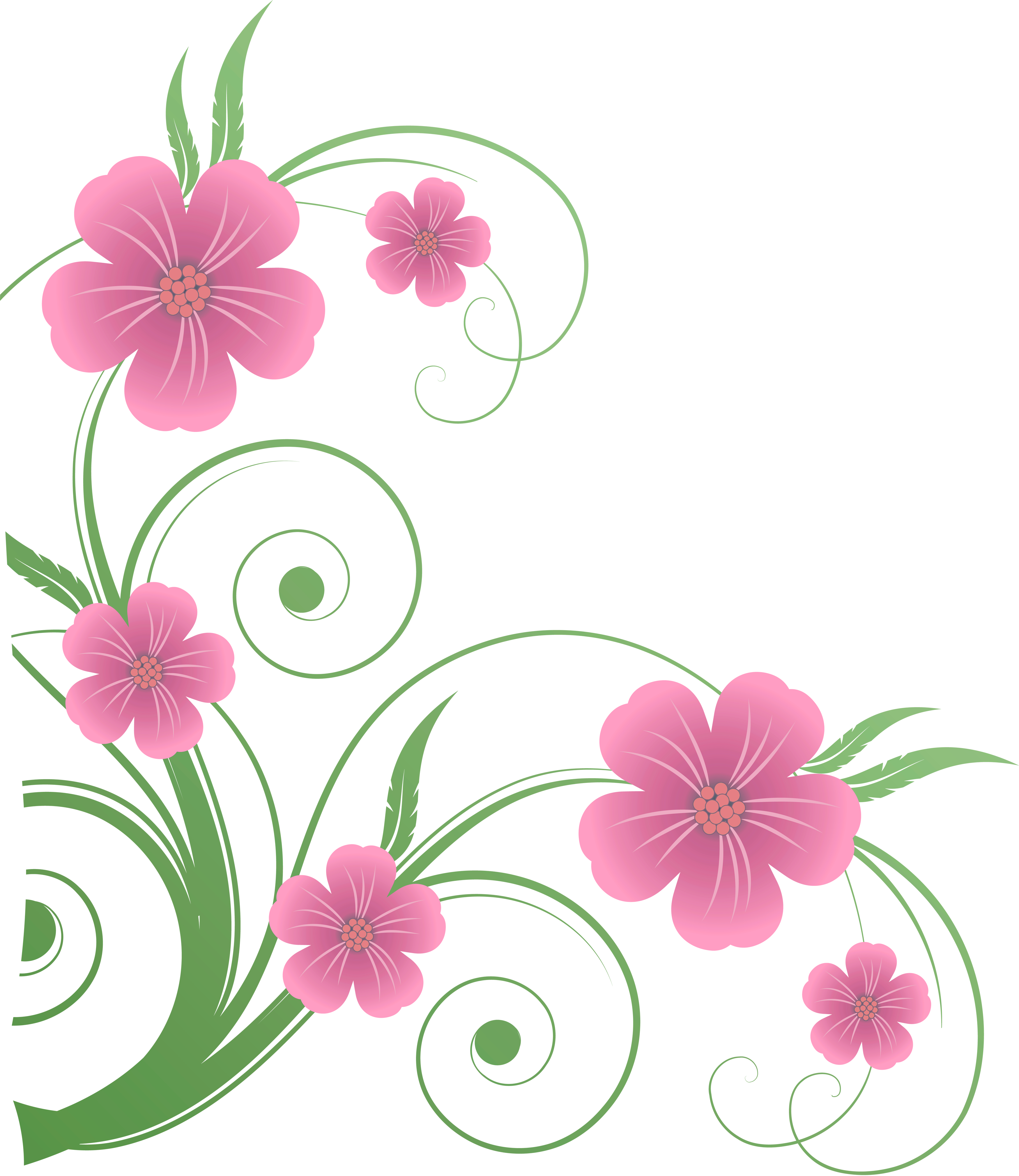 Flower clip art png image black and white Flowers PNG Decorative Element Clipart | Flowers | Pinterest ... image black and white