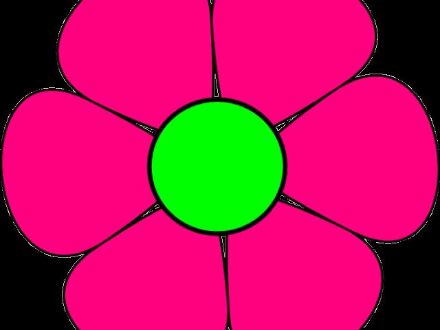 Flower clipart banner transparent download Pink Flower Clipart 1 - 582 X 599 | carwad.net banner transparent download