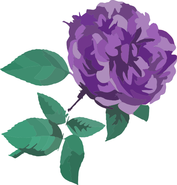 Flower clipart without background clipart transparent stock Purple Flower No Background Clip Art at Clker.com - vector clip art ... clipart transparent stock