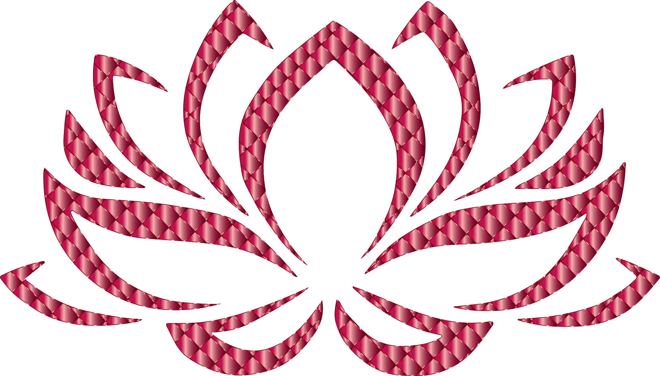 Flower transparent clipart png free Clipart - Ruby Lotus Flower No Background png free