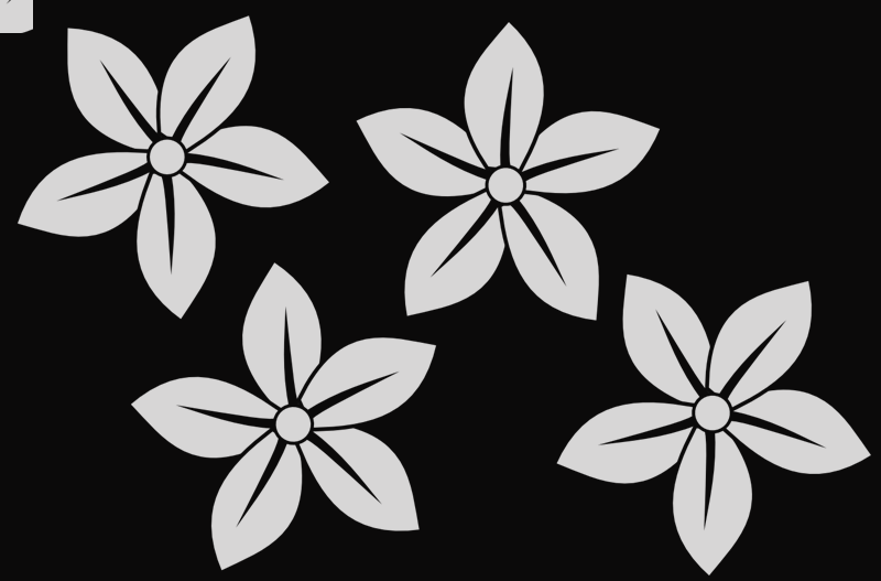 Flower clipart black and white free png transparent library Black And White Flower Clip Art Free Choice Image - Flower ... png transparent library