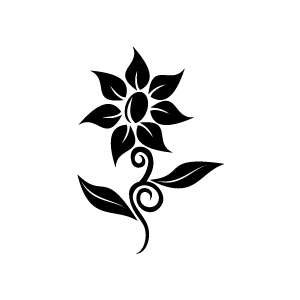 Flower clipart black png jpg royalty free library Flower clipart black png - ClipartFox jpg royalty free library