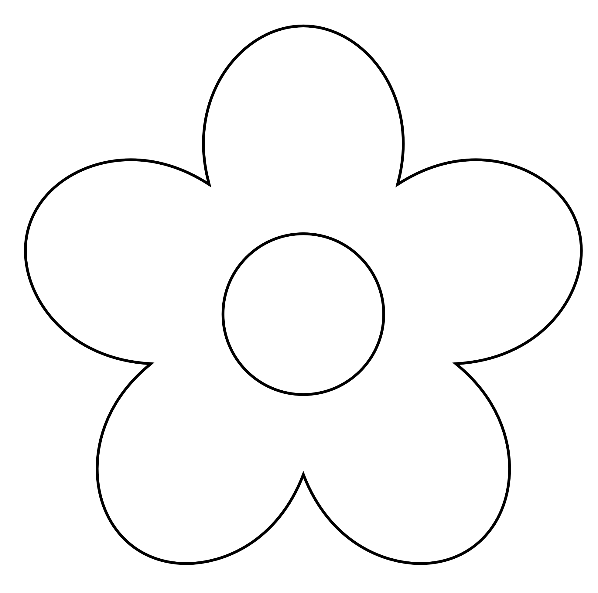 Simple black and white flower clipart banner freeuse download White flower clipart png - ClipartFest banner freeuse download