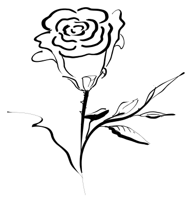 Flower clipart black png picture black and white library Small Flower Black And White Clipart - Clipart Kid picture black and white library