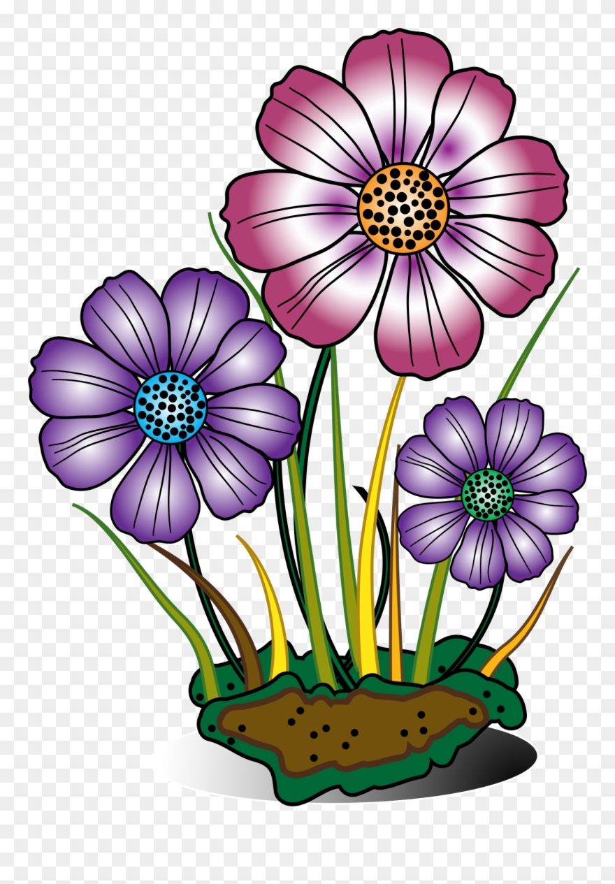 Flower clipart download. Bloom image free flowers