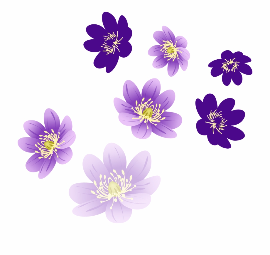 Flower clipart for photoshop clip royalty free download Purple Flowers For Photoshop Free PNG Images & Clipart Download ... clip royalty free download