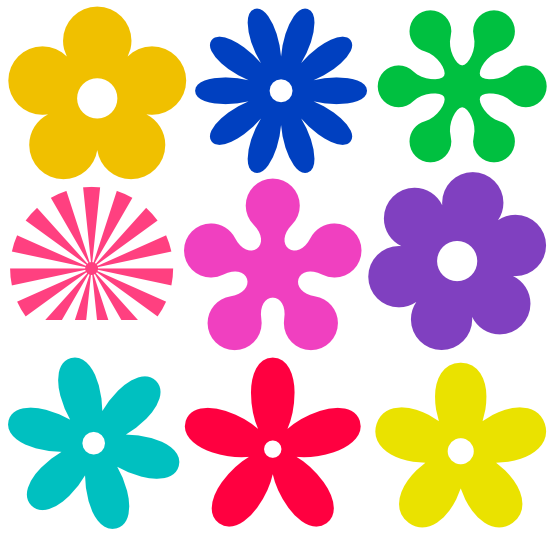 Flower clipart free png royalty free Retro Flower Clipart | Free Download Clip Art | Free Clip Art | on ... royalty free